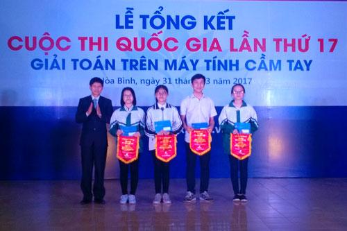 Học sinh trường THPT chuyên Hoàng Văn Thụ xuất sắc đạt thành tích cao tại cuộc thi Giải toán trên máy tính cầm tay cấp Quốc gia năm 2017